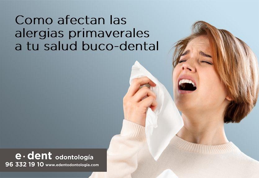Alergias y la salud buco-dental