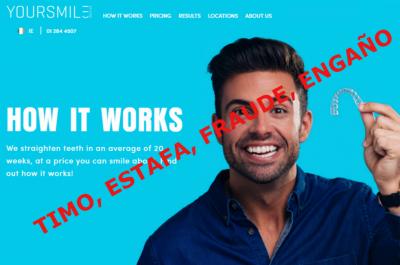 Ortodoncias milagro por internet