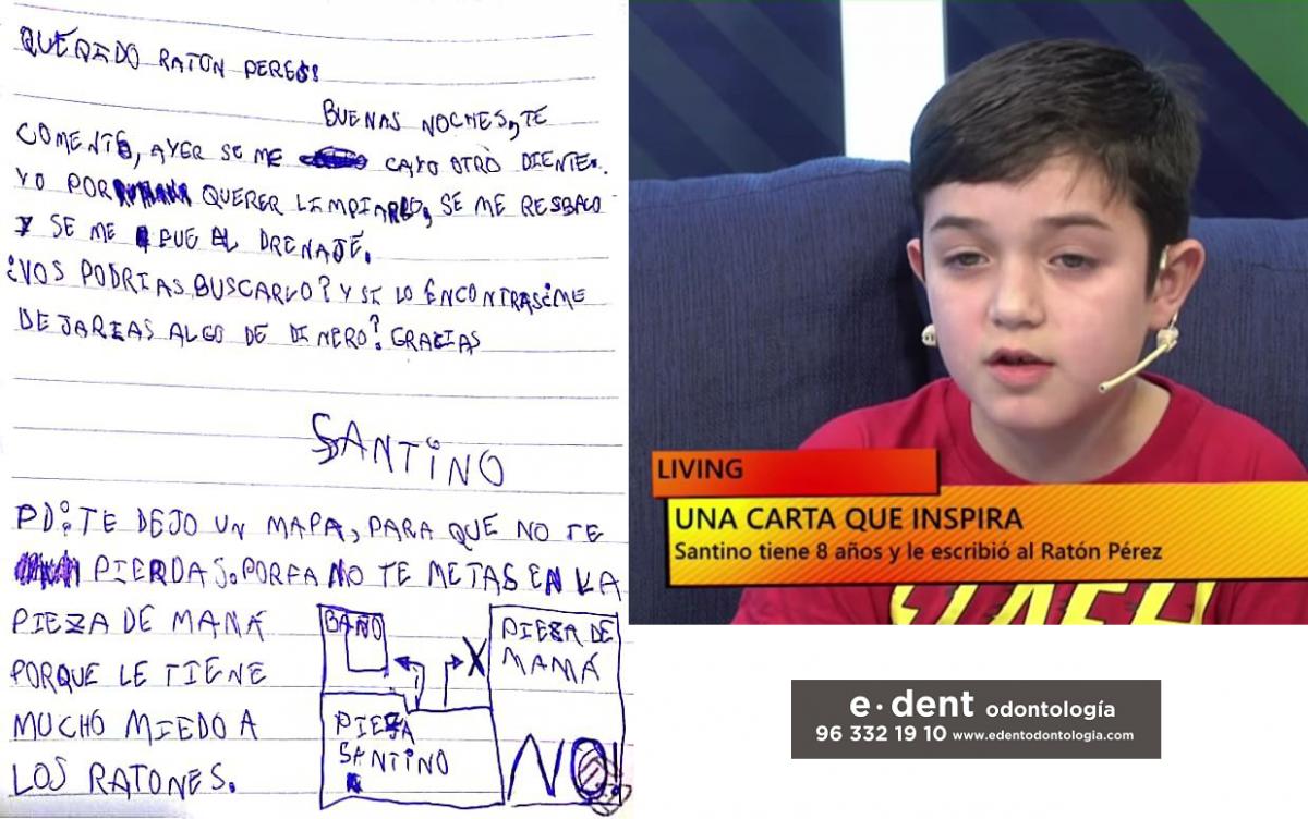 Entrañable carta al Ratoncito Pérez