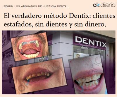 Clientes estafados el verdadero método Dentix.